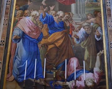Ananie et Saphire, un détournement qui coûte la vie (Ac 5, 1-11)