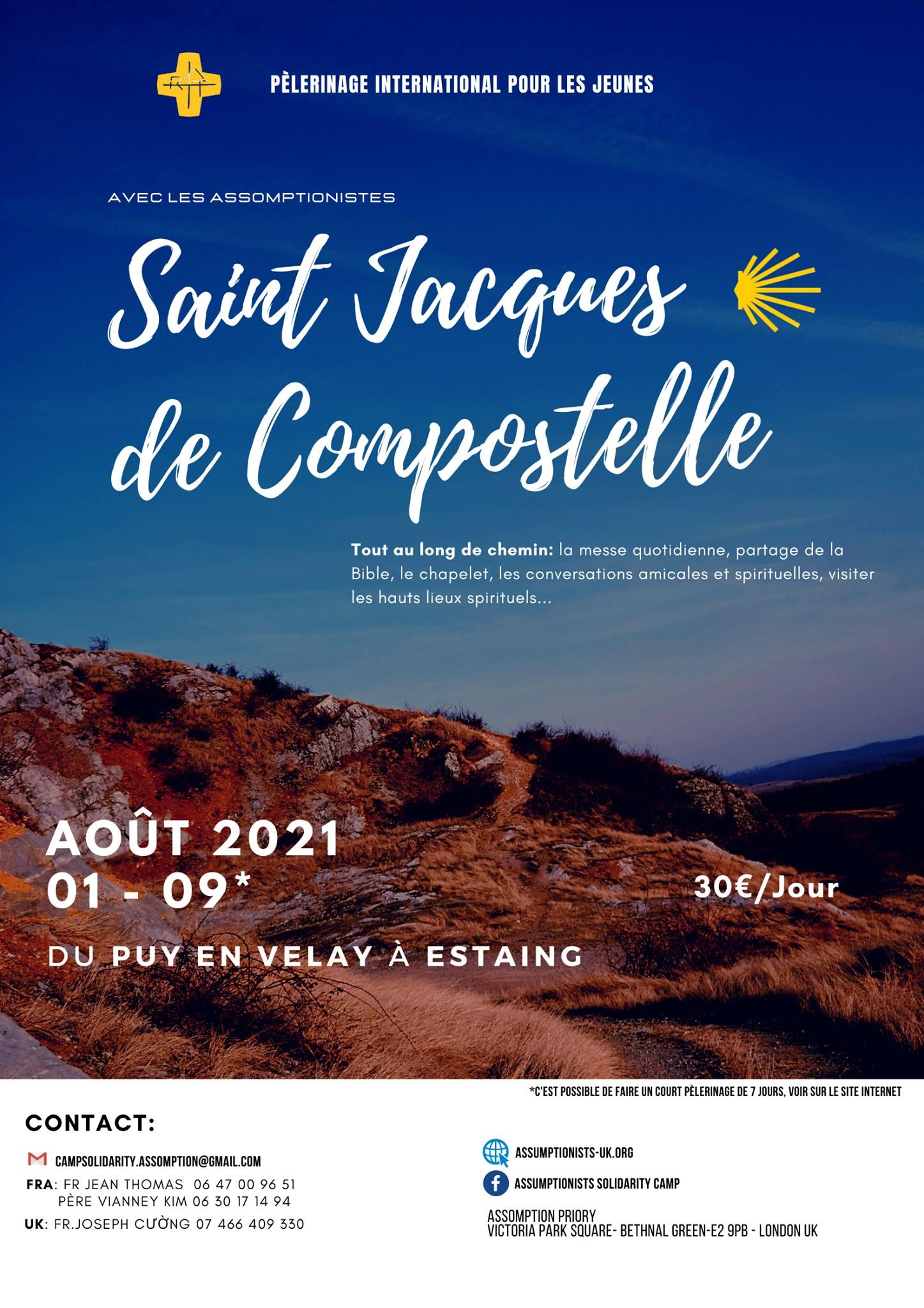 Sur le Chemin de St-Jacques-de-Compostelle